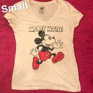 Mickey Mouse V-neck Tee (S)